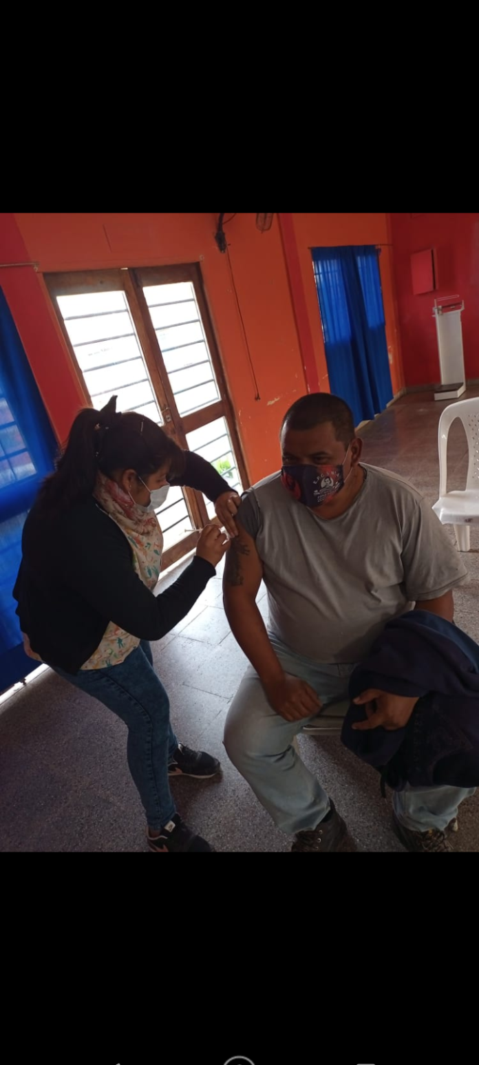 Walter Ojeda Vacuna VIP Machagai